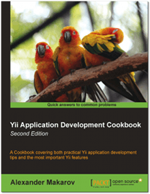 Couverture du livre Yii Application Development Cookbook — Second Edition par Alexander Makarov