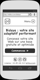 Prototype pour mobile